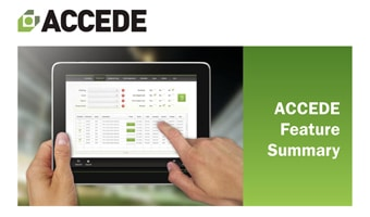 ACCEDE Features List