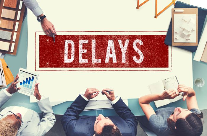 sloppy defecting can result in construction delays
