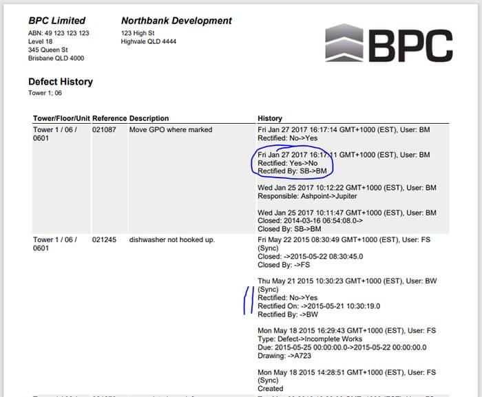 ACCEDE - Construction Defect Report